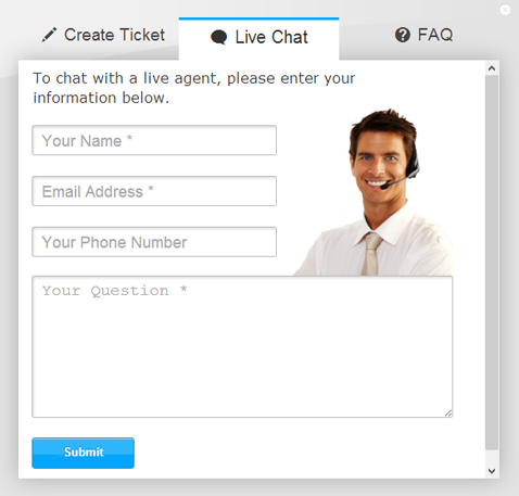 Live Chat with a counsellor