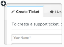Helpdesk, Create Ticket